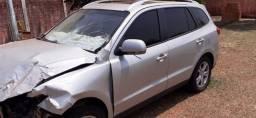 Hyundai Santa Fé - retirada de peças