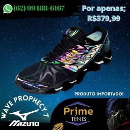 Mizuno Wave Prophecy 7 camaleão