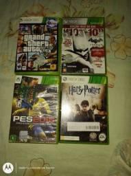 Jogos originais Xbox R$ 360,00