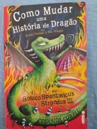 Livro Como Mudar uma História de Dragão
