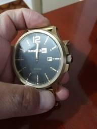 Relógio Quiksilver belluka dourado