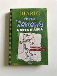 """Diario de um Banana 3 """"A Gota D'água""""(Usado)"""