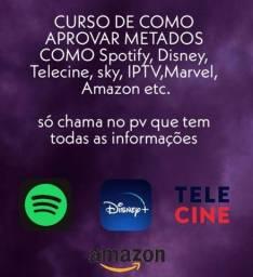 Disney plus, spotify, hbo max