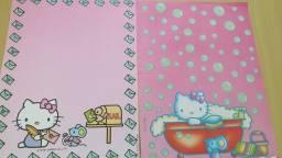 Coleção de Papel de Carta Hello Kitty 7 unidades