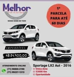 SPORTAGE 2015/2016 2.0 LX 4X2 16V FLEX 4P AUTOMÁTICO