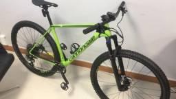Bicicleta Cannondale FS-i Carbon 5 2019, Verde, Tamanho L