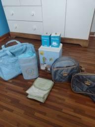 Bolsa porta frauda e porta mamadeira térmica