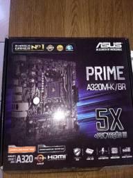 Placa mãe Asus prime A320-k/Br DDR4
