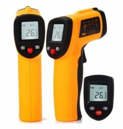 Termômetro Digital Infravermelho Mira Laser Industrial -50º A 380ºc