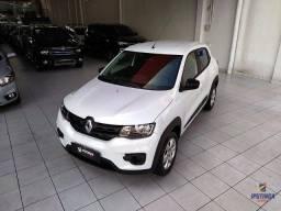 Renault Kwid Zen 1.0 - 2019 - Aceito carro ou moto como entrada