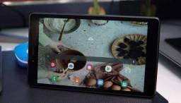 """Tablet Samsung Tab A, Android 9.0, 32GB, 8MP, Tela 8"""" lacrado com garantia e nota fiscal."""