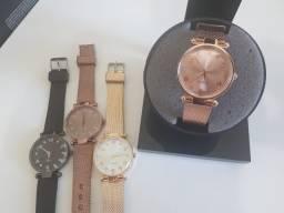 Compre 1 Leve 2 Relógios Skin Feminino. De 150 por 75