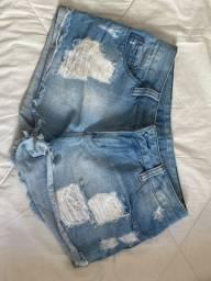 short jeans aquamar