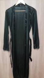 Robe longo preto tamanho P