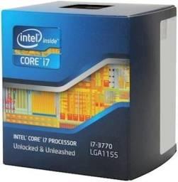 Processador intel core i7 3770, novo, nunca usado, apenas testado