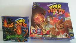 Boardgame King of Tokyo com expansão - jogo de tabuleiro moderno
