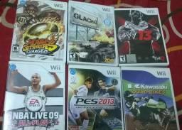 Jogos variados para Nintendo wii