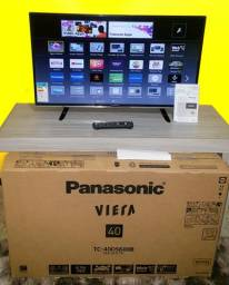 """SMART TV 40"""" PANASONIC NOVA Na CAIXA (NUNCA USADA)"""