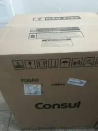 Novo na caixa O Fogão Consul 5 bocas inox de 1200 por 950 top chamar no wats 994702138