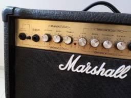 Guitarra strato + cubo marschall