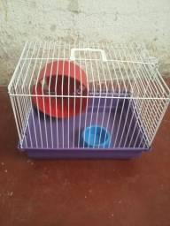 Gaiola pra hamster porquin da india nova sem uso