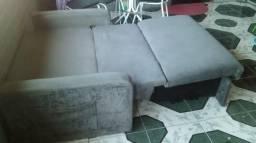 Sofá cama c/ baú