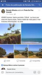 Vendo terreno ou troco por uma casa em Itaoca praia