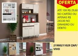 Armário Cozinha Compacta Magazin 5 Portas ? Nicioli