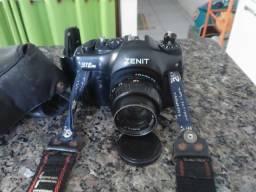 Maquina fotografica zenite analógica