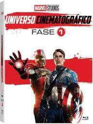 Box Bluray - Marvel Studios Universo Cinematográfico Fase 1