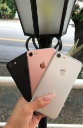 Iphone 7 32gb e 128gb vitrine top + capa e película de brinde