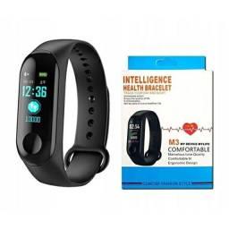 Relógio M3 Bracelete Intelligente - Pulseira Preta