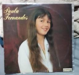 Lp Disco Vinil Paula Fernandes - Autografado - Raro