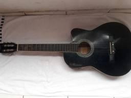 Vendo violão da Memphis ( usado) junto com alça de apoio.