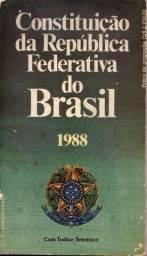 Livro - Constituição Da República Federativa Do Brasil 1988