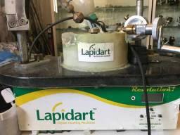 Maquina de lapidação de pedras preciosas mais apostila lapidara