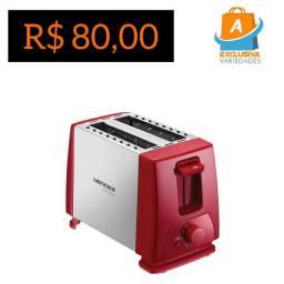 Torradeira Elétrica 220V Lenoxx Inox Red + Entrega Grátis