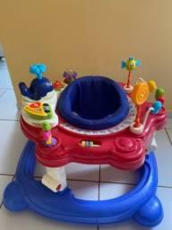 Centro de atividades para bebê 4 em 1