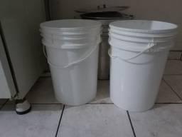 Kit  panela cerveja (tres + baldes) 30 litros