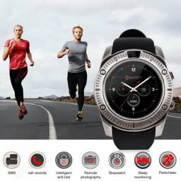 Relógio Inteligente Smartwatch Bluetooth KY003 Metal