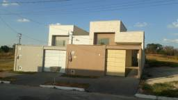 Vende casa nova Residencial Marilia, sendo 3/4 com 1 suíte, aceita financiamento