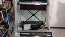 Vendo Teclados Casio CTK 3500 novos, sem uso