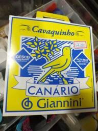 Encordoamento canário para cavaco