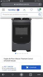 Vendo fogão consul Titanium com timer touch