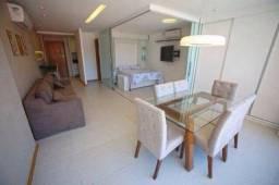 Barra 1/4 mobiliado e finamente decorado, Nascente, excelente localização Orla frente a pr