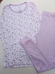 Título do anúncio: Pijama feminino Tam 16 (juvenil)