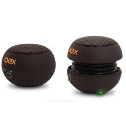 Caixinha de Som Portátil P2 para Celular OEX