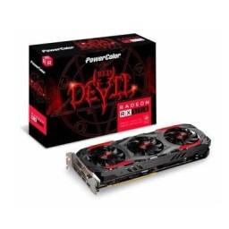 Troco RX 570 Red Devil em Placa de vídeo Superior