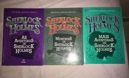 Livros Sherlock Holmes - Princips