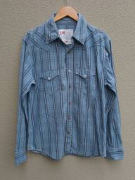 Camisa masculina Luigi Bertoli tamanho M